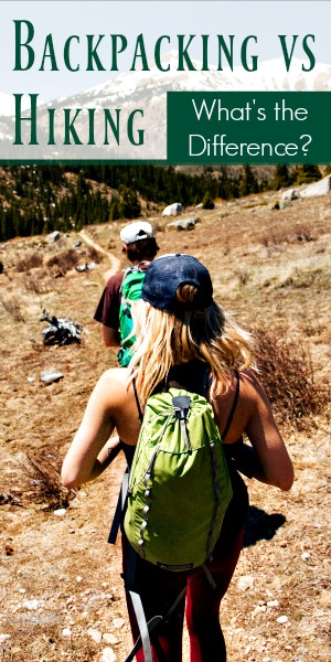 Backpacking vs Hiking: What's the Difference? The Outdoor Authority Explains