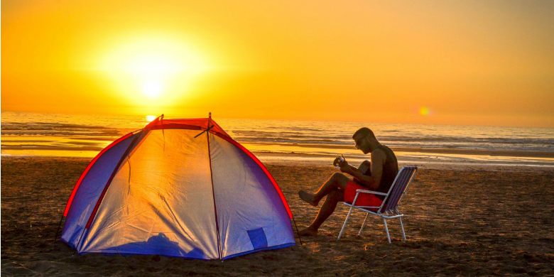 25 Beach Camping Tips for People of All Experience Levels