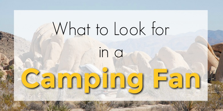 What to Look for in the Best Camping Fan