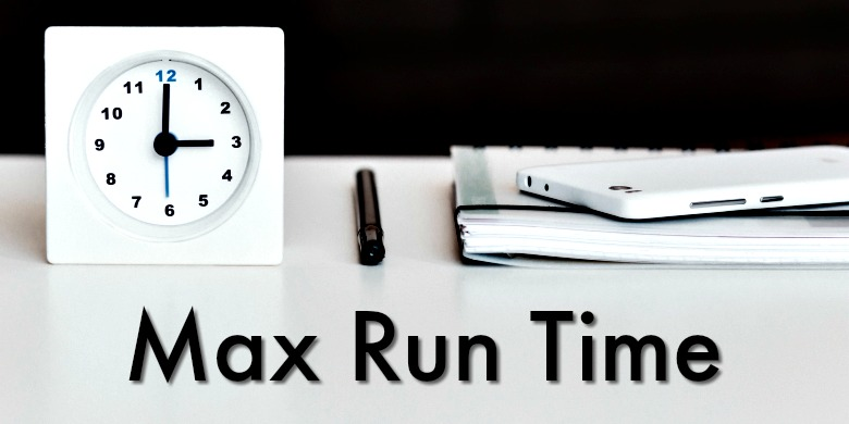The max run time is an important factor when choosing the best camping fan.