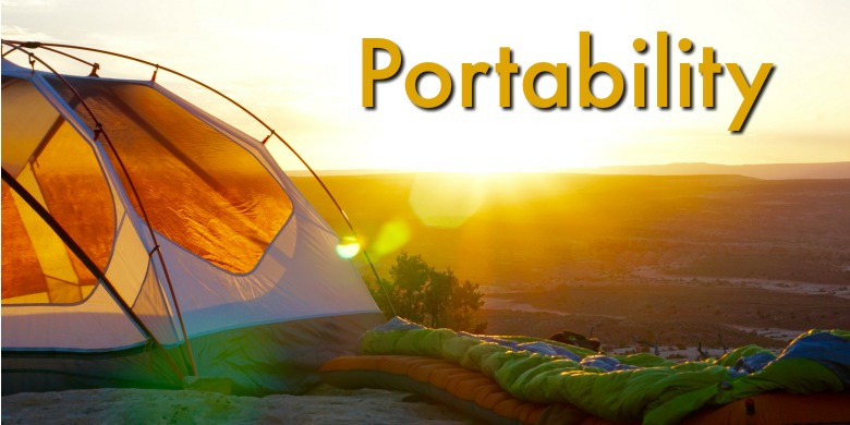 Portability is an important factor when choosing among the best camping fans.