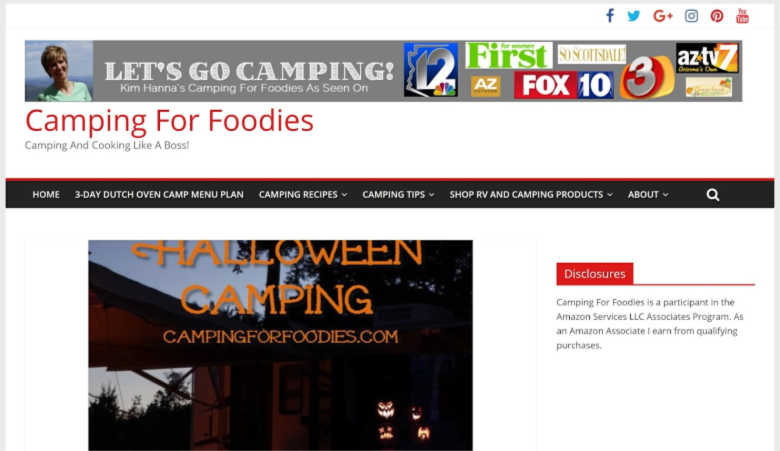 Camping For Foodies