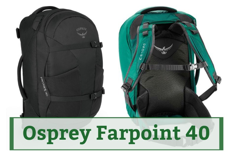 The Complete Osprey Farpoint 40 Review for the best travel backpack